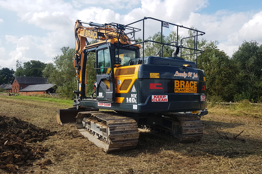 Plant Hire From Brace Turner
